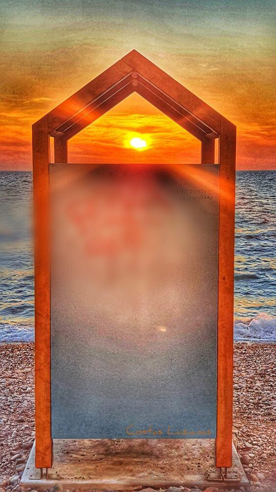 """Μοναδική εικόνα - Όταν ο ήλιος """"αλλάζει"""" με θέα τον Πατραϊκό"""