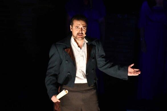 Πάτρα - Kέρδισε το χειροκρότημα το μουσικο-θεατρικό έργο «Lord Byron: ποιήματα στη λάσπη» (φωτο)