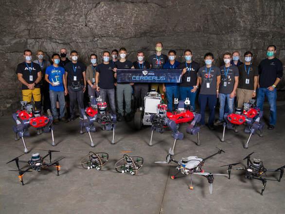Η ομάδα απόφοιτου του Πανεπιστημίου Πατρών κέρδισε σε διαγωνισμό ρομποτικής του Πεντάγωνου