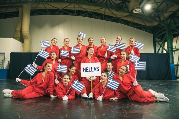 Παγκόσμιες διακρίσεις για το «ελληνικό» Cheerleading