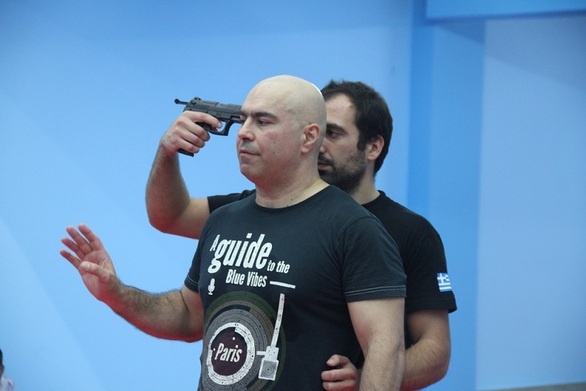 """Ο """"Ατρόμητος"""" λαμβάνει ειδική εκπαίδευση σε Krav Maga και Aikido"""