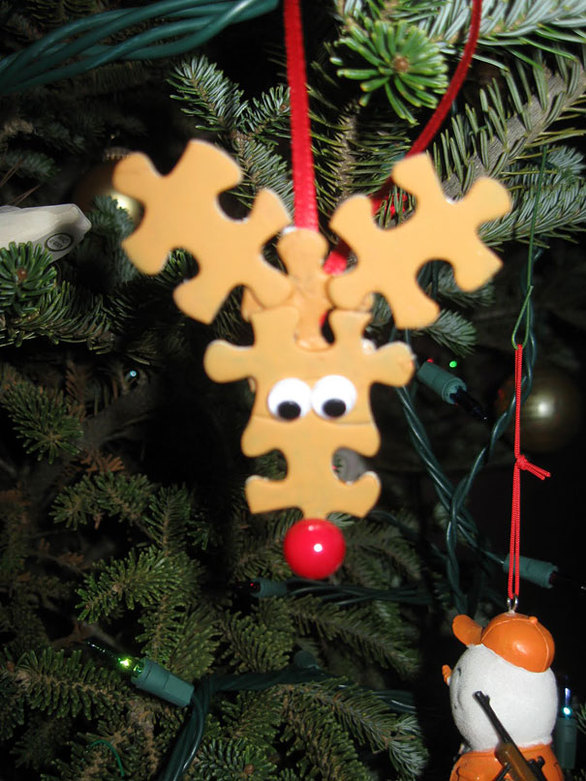Χειροποίητες χριστουγεννιάτικες κατασκευές που χρησιμοποιούνται ως στολίδια! (pics)