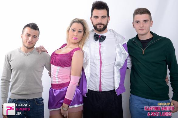 Group 4: Kλαρινογαμπροί & Sexy Ladies