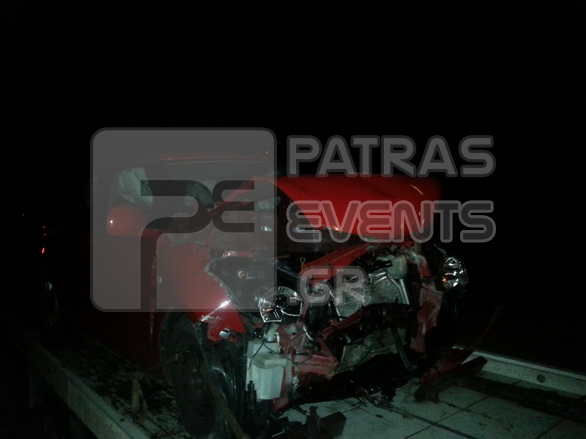 Αχαΐα: Σοβαρό τροχαίο κοντά στο Φαρραί - Δείτε φωτογραφίες