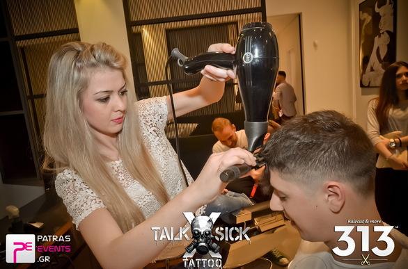 Τattoo and hair design show by 313 haircut and more & TALK SICK Tattoo 19-05-14 Part 1/2
