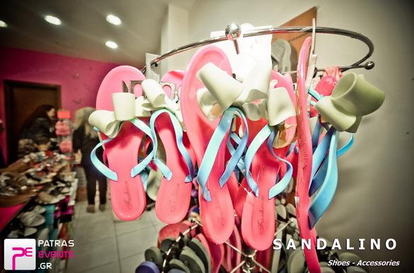 Εγκαίνια του καταστήματος Sandalino 29-05-14