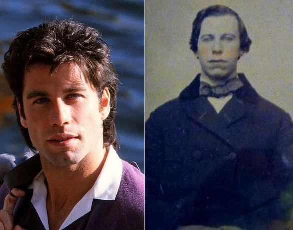 Ο John Travolta και ακόμα ένας άγνωστος από το 1860