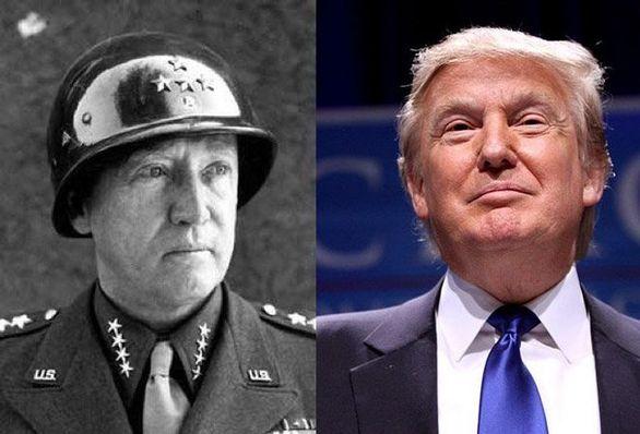 Ο Donald Trump και ο Στρατηγός George Patton
