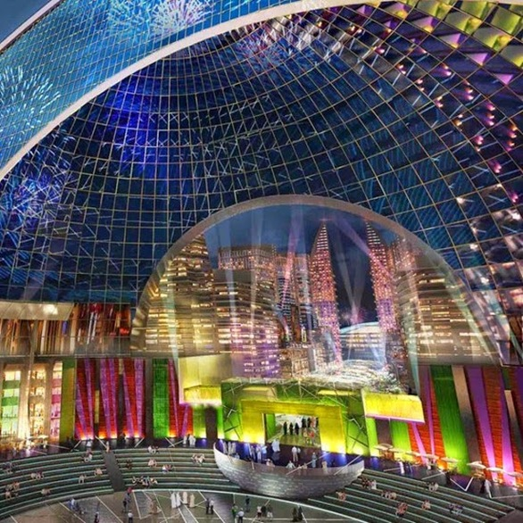 Στο Ντουμπάι θα γίνει η μεγαλύτερη κλιματιζόμενη πόλη! (pics+video)