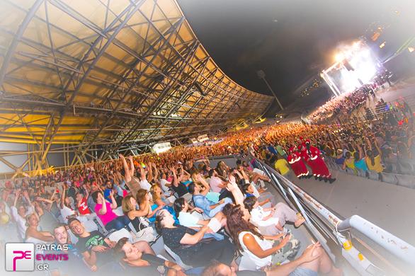 Αντώνης Ρέμος & Άννα Βίσση Live @ Παμπελοποννησιακό Στάδιο Πάτρας 14-07-14 Part 1