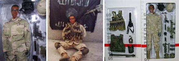 Όταν οι ΗΠΑ εισέβαλαν στο Ιράκ το 2003, οι αντάρτικες ομάδες της χώρας ανέπτυξαν την κακιά συνήθεια να απαγάγουν στρατιώτες. Κι ενώ άλλες υποθέσεις έληξαν με αίσιο τέλος και άλλες κατέληξαν σε τραγωδίες, καμία δεν ήταν ηχηρότερη από την περίπτωση του John Adam. Τον Φεβρουάριο του 2005 λοιπόν κυκλοφόρησε η φωτογραφία του αλυσοδεμένου αμερικανού φαντάρου, με το όπλο να τον στοχεύει στο κεφάλι, συνοδευόμενη από το μήνυμα για την άμεση εκτέλεσή του αν δεν αποφυλάκιζε η Αμερική μαχητές των ανταρτών. Το μόνο πρόβλημα; Ότι ο Αμερικανικός Στρατός δεν είχε χάσει στρατιώτη! Και κάτι ακόμα: η φωτογραφία είχε κάτι το περίεργο, καθώς το όπλο φαινόταν πλαστικουριά αλλά και το πρόσωπο του ομήρου είχε μια παράξενη δυσκαμψία. Και τότε οι ιθύνοντες της εταιρίας παιχνιδιών Dragon Models USA Inc. συνειδητοποίησαν ότι ο όμηρος ήταν στην ουσία η στρατιωτική φιγούρα που είχαν προσφάτως κυκλοφορήσει! Αν κάνουν φάρσες οι αντάρτες όταν βαριούνται; Μάλλον ναι…