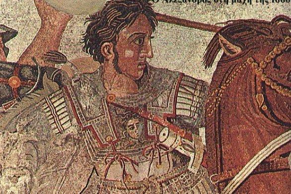 Το μονόγραμμα του Μέγα Αλέξανδρου στην Αμφίπολη