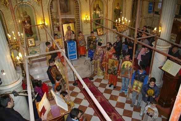 Πάτρα: Πανηγυρίζει ο Ιερός Ναός του Αγίου Νικολάου