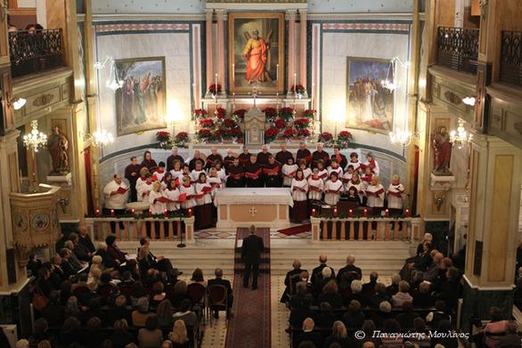 Πάτρα: Χριστουγεννιάτικη συναυλία από τη μικτή χορωδία του Καθολικού Ι.Ν. Αγίου Ανδρέα