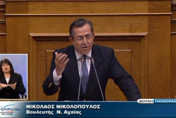 Ο Νίκος Νικολόπουλος ζητά να γίνουν εκλογές άμεσα