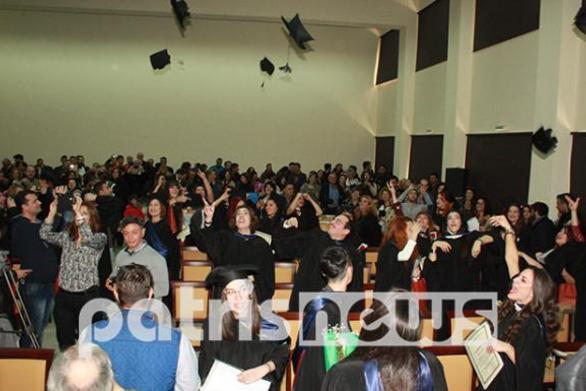 Ηλεία: Στιγμές χαράς στην παρθενική ορκωμοσία του ΤΕΙ Μουσειολογίας (pic)