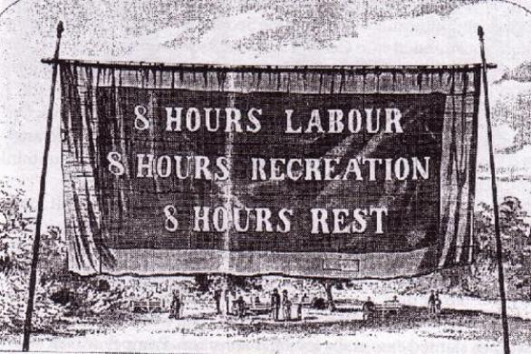 Σαν σήμερα 1 Μαΐου το 1886, στις Η.Π.Α. πραγματοποιούνται συλλαλητήρια με αίτημα την οκτάωρη εργασία