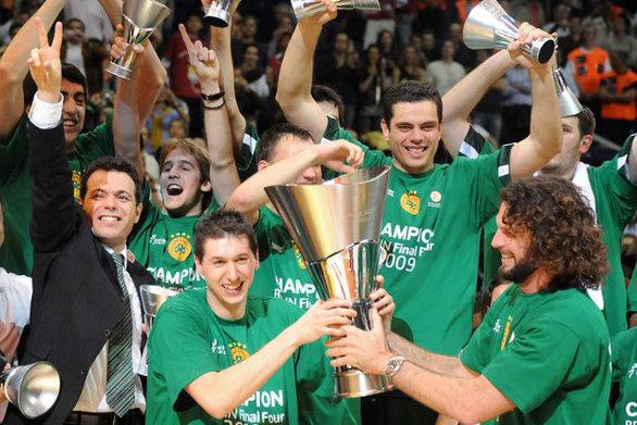 Σαν σήμερα 3 Μαΐου ο Παναθηναϊκός αναδεικνύεται πρωταθλητής Ευρώπης στο μπάσκετ για πέμπτη φορά στην ιστορία του
