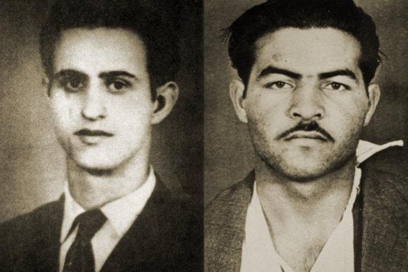 Σαν σήμερα 10 Μαΐου εκτελούνται από τις βρετανικές αρχές οι αγωνιστές της ΕΟΚΑ, Μιχαήλ Καραολής και Ανδρέας Δημητρίου