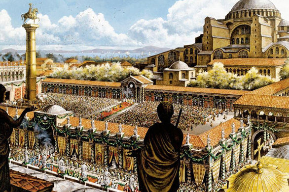 Σαν σήμερα 11 Μαΐου το Βυζάντιο μετονομάζεται σε Νέα Ρώμη και γίνεται πρωτεύουσα της Ρωμαϊκής Αυτοκρατορίας
