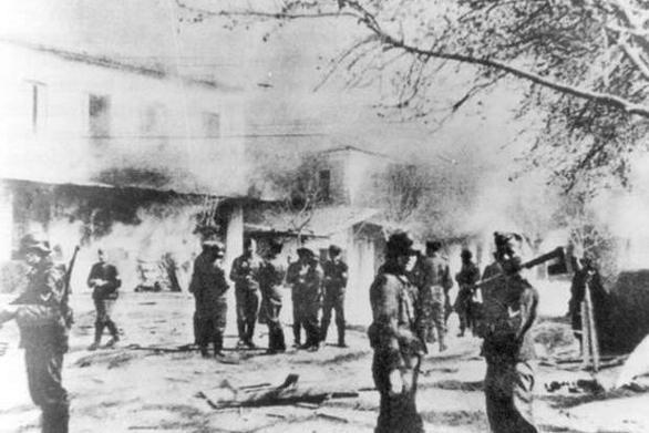 Σαν σήμερα 10 Ιουνίου οι Ναζί κατακτητές καταστρέφουν το Δίστομο και σκοτώνουν 218 κατοίκους του