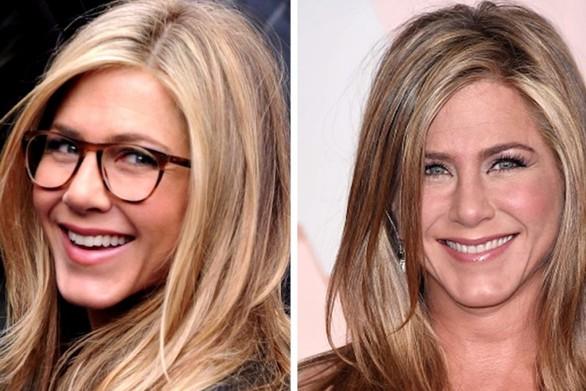 11 διάσημοι με γυαλιά και χωρίς αυτά (video)