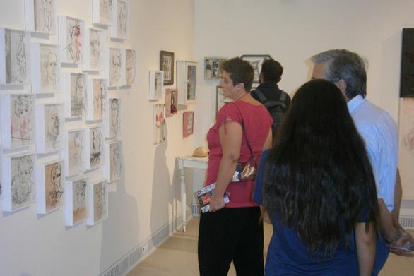 «Ορέξεις του μακρού χρόνου» - Με επιτυχία τα εγκαίνια της έκθεσης της Έλλης Μπαρμπαγιάννη (pics)