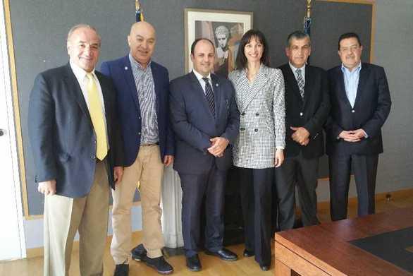Το Επιμελητήριο Αχαΐας συναντήθηκε με την Υπουργό Τουρισμού Έλενα Κουντουρά