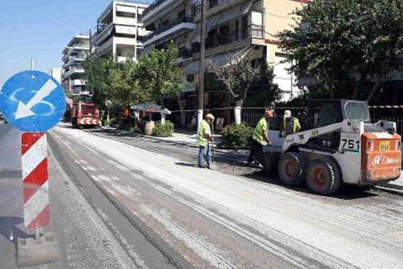 Πάτρα: Εργασίες οδοποιίας στους δρόμους τριών πρώην καποδιστριακών Δήμων