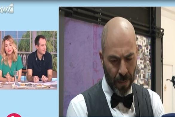 """Βαλάντης: """"Αν ισχύει ότι δεν με θέλει ο Φασουλής στο YFSF θα ήθελα να ξέρω τον λόγο"""" (video)"""