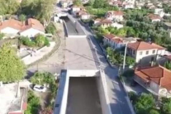 Δείτε από ψηλά τη νέα σιδηροδρομική γραμμή Αιγίου - Ξυλοκάστρου! (video)