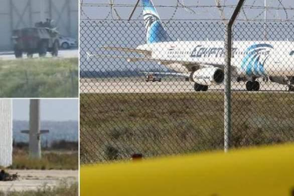 Τέλος στην αεροπειρατεία στην Κύπρο - Παραδόθηκε ο δράστης