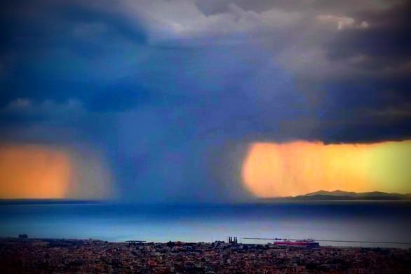 """Timelapse βίντεο από καταιγίδα που """"σκεπάζει"""" την Πάτρα!"""