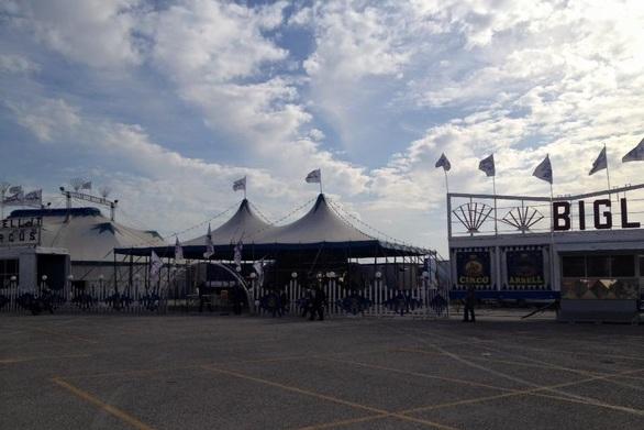 Το τσίρκο και ο μαγικός του κόσμος έφτασε στην Πάτρα -  Δείτε που (pics+video)