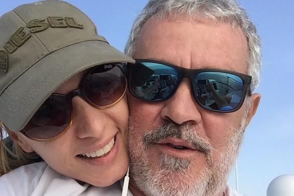 Το εμπόδιο που συνάντησε η Πέγκυ Ζήνα και ο Γιώργος Λύρας στο δρόμο για την Τρίπολη (pic)