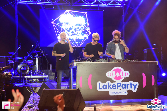 Lake Party Τριχωνίδα Live Μέλισσες - Rec - Playmen - The Mode - Ghali 18-08-16 Part 3/8