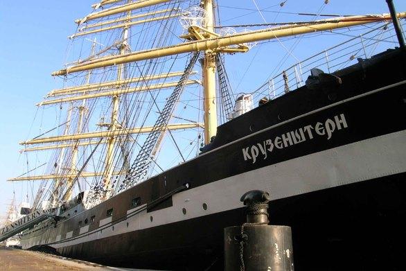 """Στο λιμάνι της Πάτρας θα """"δέσει"""" σήμερα το Ρωσικό εκπαιδευτικό ιστιοφόρο «Kruzenshtern»!"""