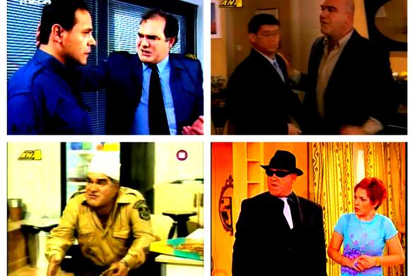 Γιάννης Μποσταντζόγλου - Οι καλύτεροι ρόλοι του... φωνακλά της ελληνικής tv (vids)