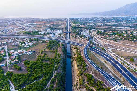 """""""Πετώντας"""" πάνω από το σημείο που ενώνει τη Στερεά Ελλάδα με την Πελοπόννησο! (φωτο)"""
