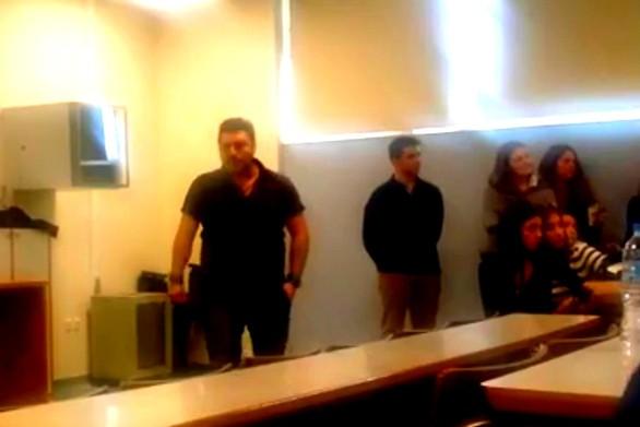 Πάτρα: Η ομιλία του Γιάγκου για το Πολυτεχνείο έφερε τον… χαμό σε Γ.Σ. φοιτητών (video)