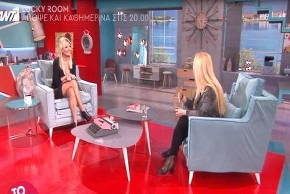 Η δήλωση της Πανοπούλου για το διαζύγιο της Σκορδά on air (video)