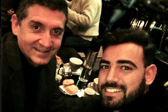 H οικογενειακή selfie του Αντιπεριφερειάρχη Γρ. Αλεξόπουλου με τον ηθοποιό Ν. Πολυδερόπουλο