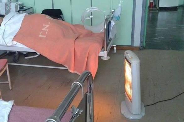 Πάτρα: Με τη... σόμπα τους οι ασθενείς στο ταχύρυθμο του Αγίου Ανδρέα (pics)