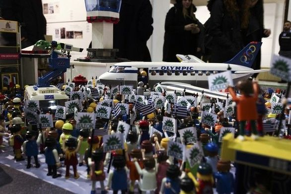 To νεύμα του Ανδρέα Παπανδρέου στην Δήμητρα Λιάνη έγινε… Playmobil (pics+vids)