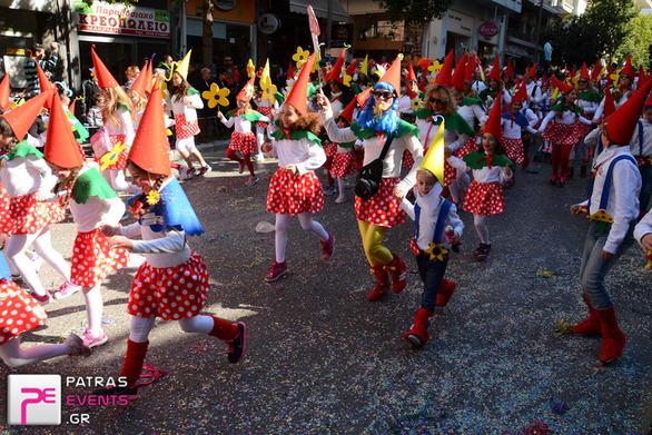 Πάτρα: Όλα έτοιμα για το Καρναβάλι των Μικρών - Δείτε τη σειρά των πληρωμάτων στην παρέλαση