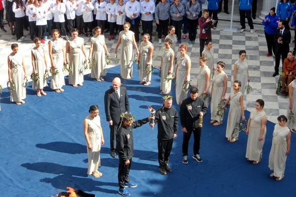 Η Περιφέρεια Δυτικής Ελλάδας στην Αφή της Φλόγας των Special Olympics (pic)
