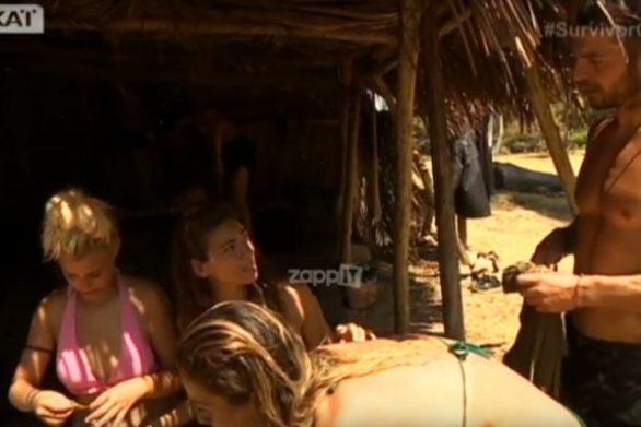 Survivor: «Επίθεση» της Ευρυδίκης Βαλάβάνη στον Γιώργο Αγγελόπουλο (video)