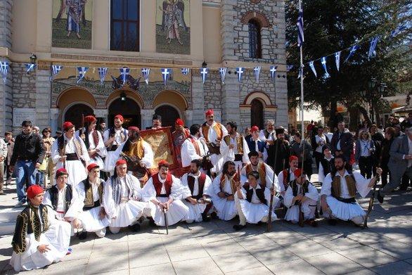 Σαν σήμερα 21 Μαρτίου οι Έλληνες επαναστάτες καταλαμβάνουν τα Καλάβρυτα