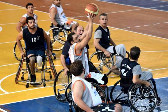 Μπάσκετ με αμαξίδιο - Ο Ήφαιστος Πατρών συνεχίζει δυναμικά στην μάχη του πρωταθλήματος!