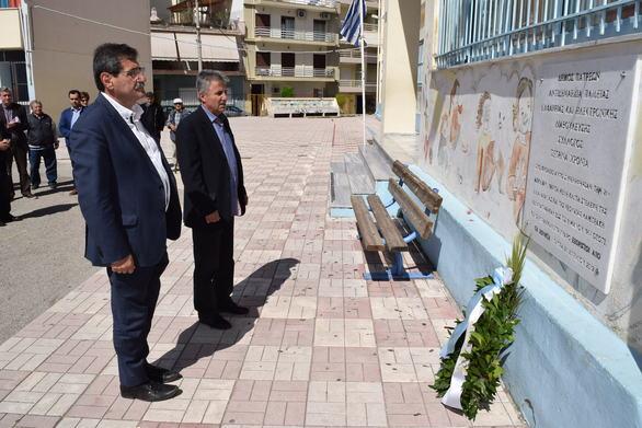 Πάτρα: Η Δημοτική Αρχή τίμησε τους αγωνιστές που βασανίστηκαν κατά την διάρκεια της δικτατορίας (φωτο)